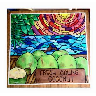 Fresh Young Coconut $350